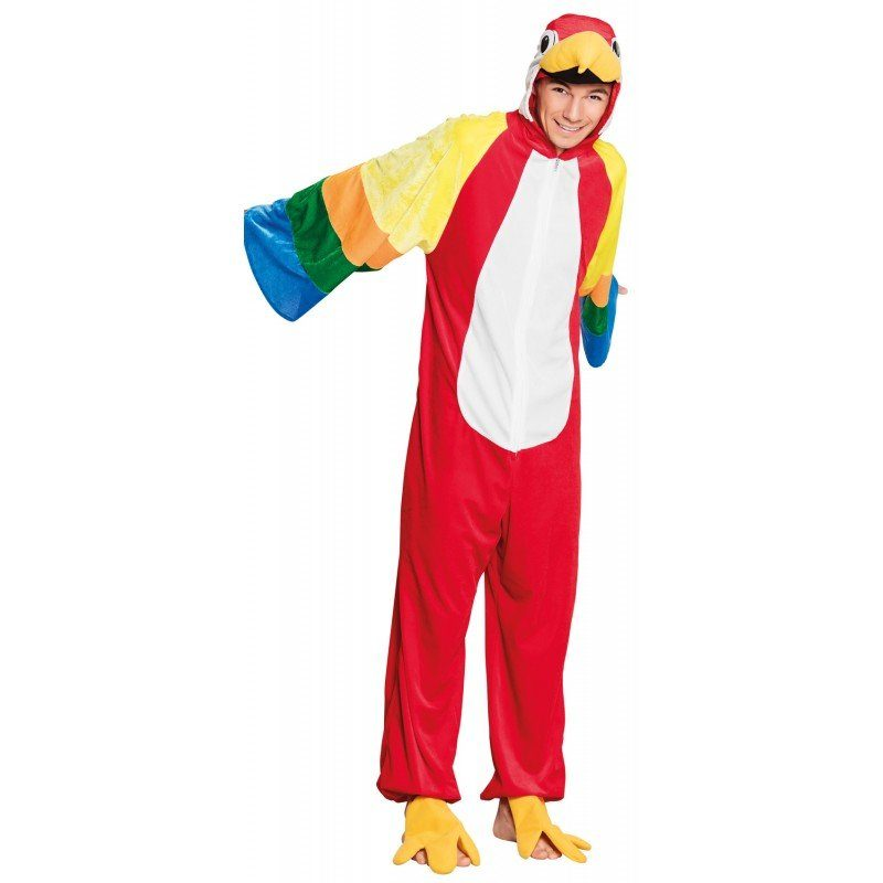 Bunter Papagei Kostüm für Teenager - 165 cm