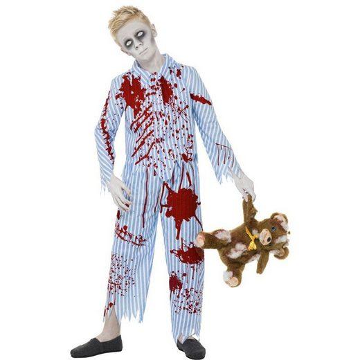 Zombie Pyjama Boy Horrorkostüm für Jungen