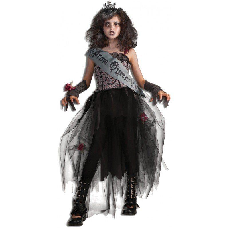 Goth Prom Queen Gruselkostüm für Kinder