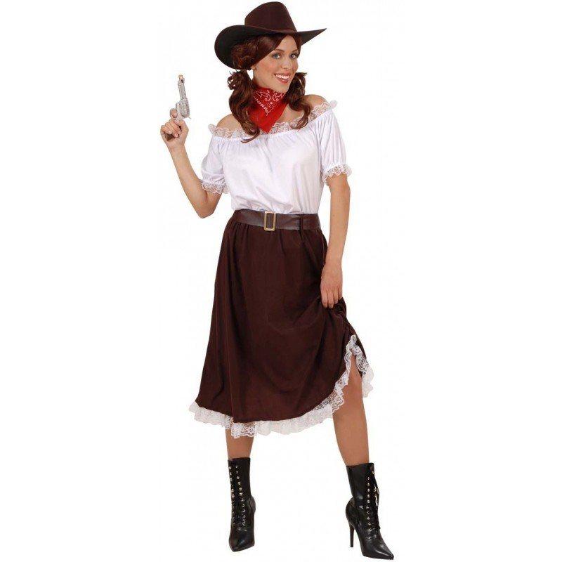 Cowgirl Kostum 4 Teilig Fur Damen Online Kaufen Otto