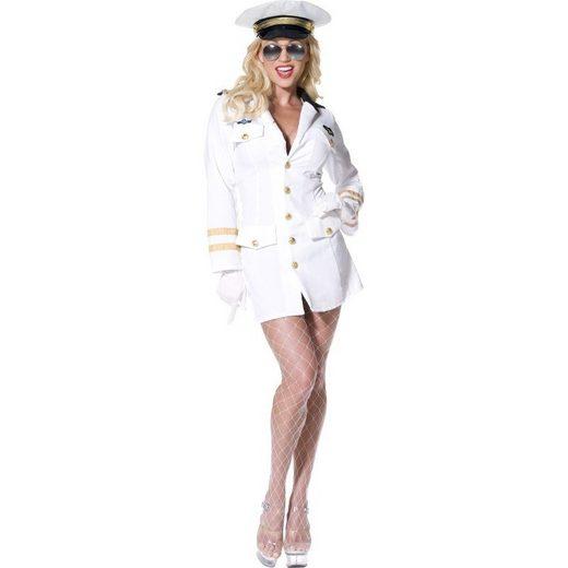Top Gun Sexy Offizierin Kostüm