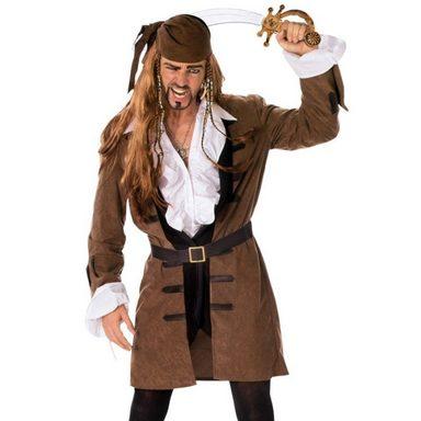Captain Henry Piraten Mantel für Herren