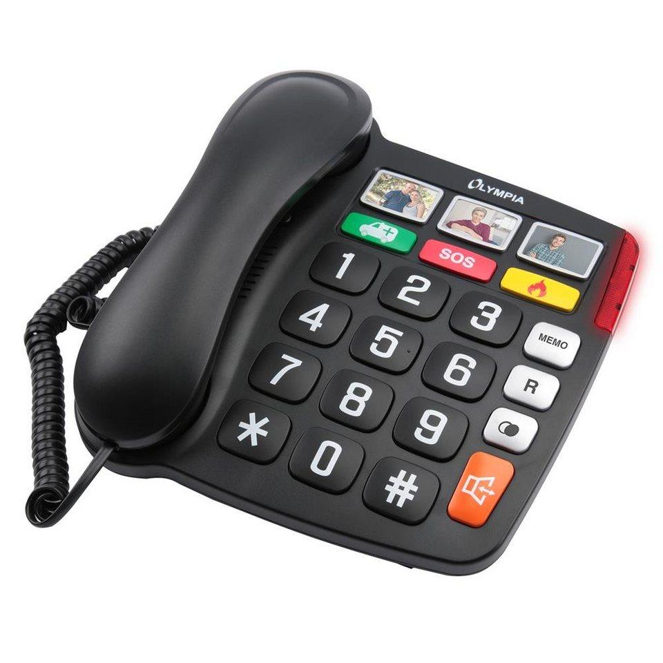 OLYMPIA OFFICE »Großtastentelefon 4500« Seniorentelefon ...