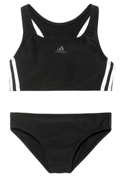 adidas Performance Bustier-Bikini im sportlichen Design