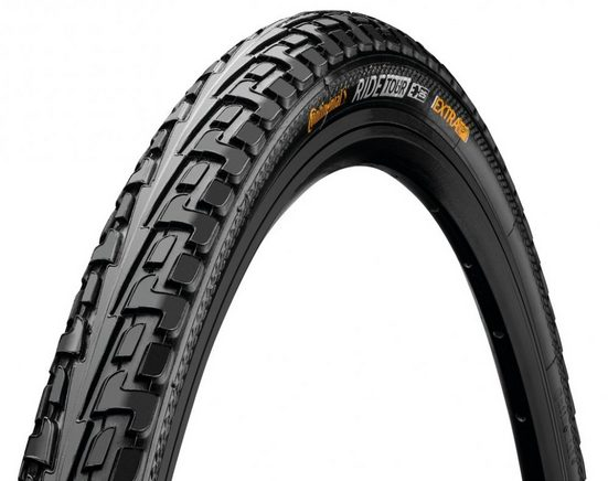 CONTINENTAL Fahrradreifen »Reifen Conti RideTour 28x1.60' 42-622 schwarz Refl«