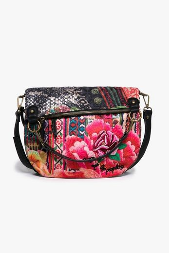 desigual henkeltasche bols folded casilda mit floralem design online kaufen otto. Black Bedroom Furniture Sets. Home Design Ideas