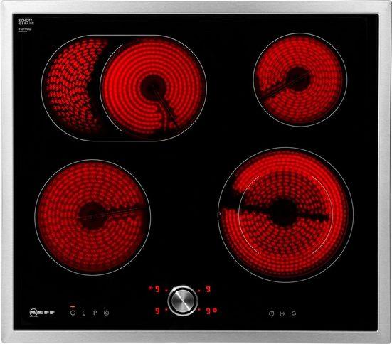 NEFF Elektro-Kochfeld von SCHOTT CERAN® TBT1676N T16BT76N0, mit TwistPad® Bedienung