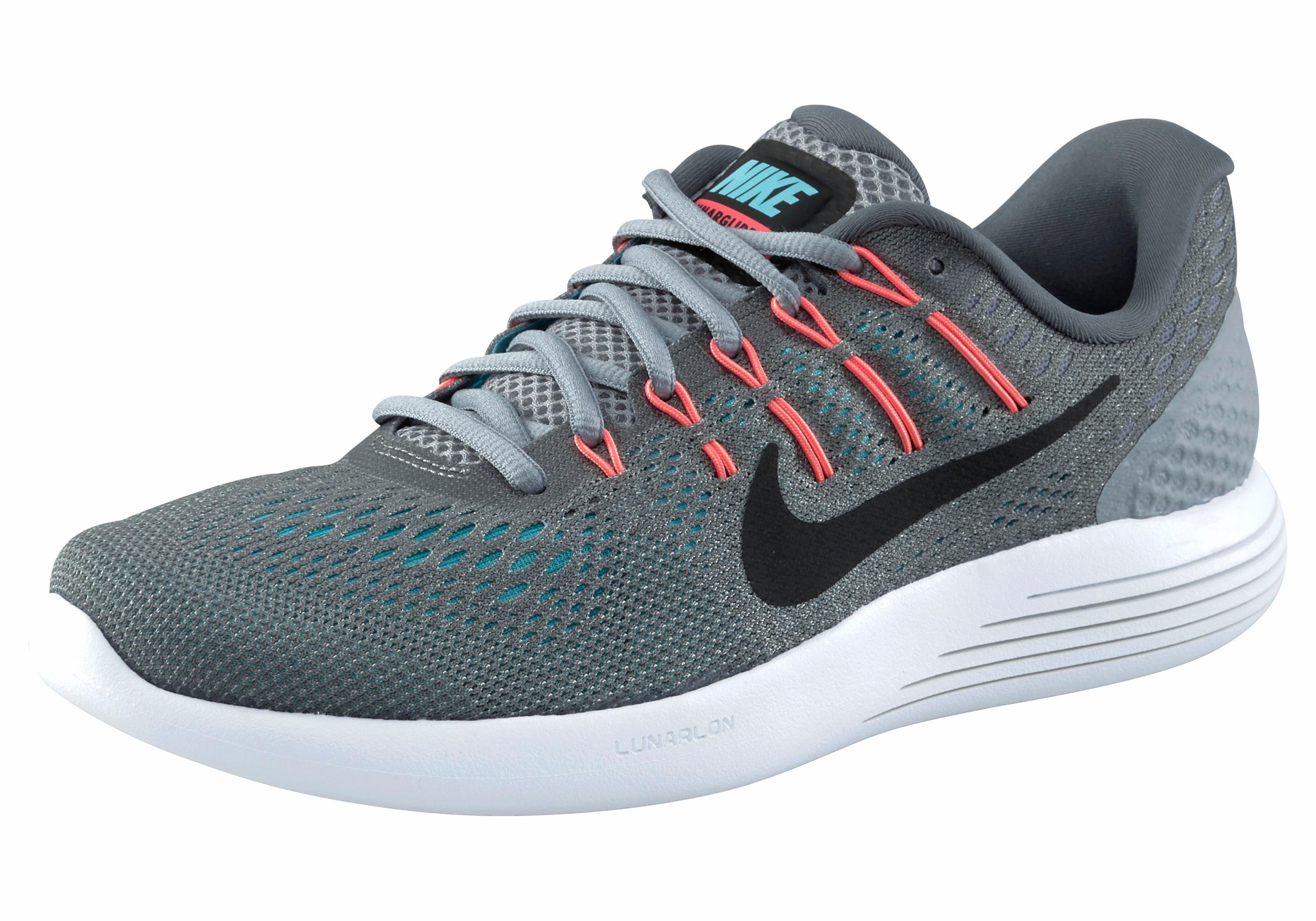 Nike LunarGlide 8 Laufschuhe Grau EBQBj0