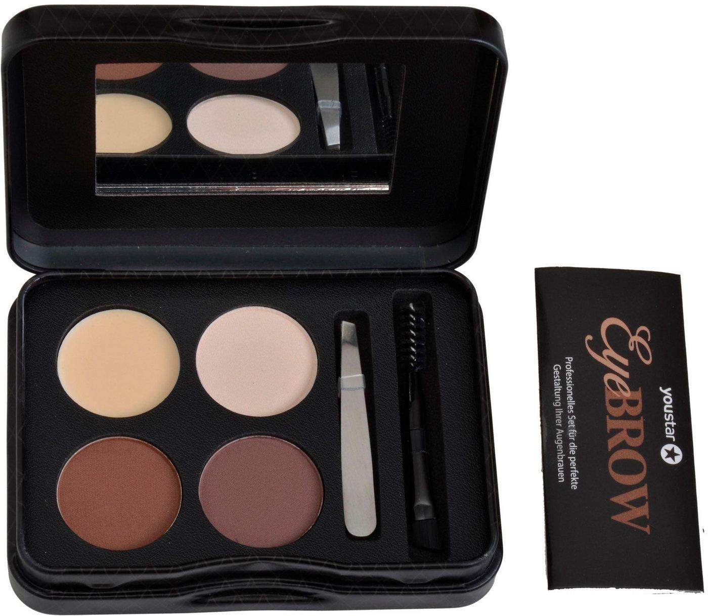 youstar -  Make-up Set »Eyebrow Kit«, 9-tlg., Augenbrauen Make up-Set