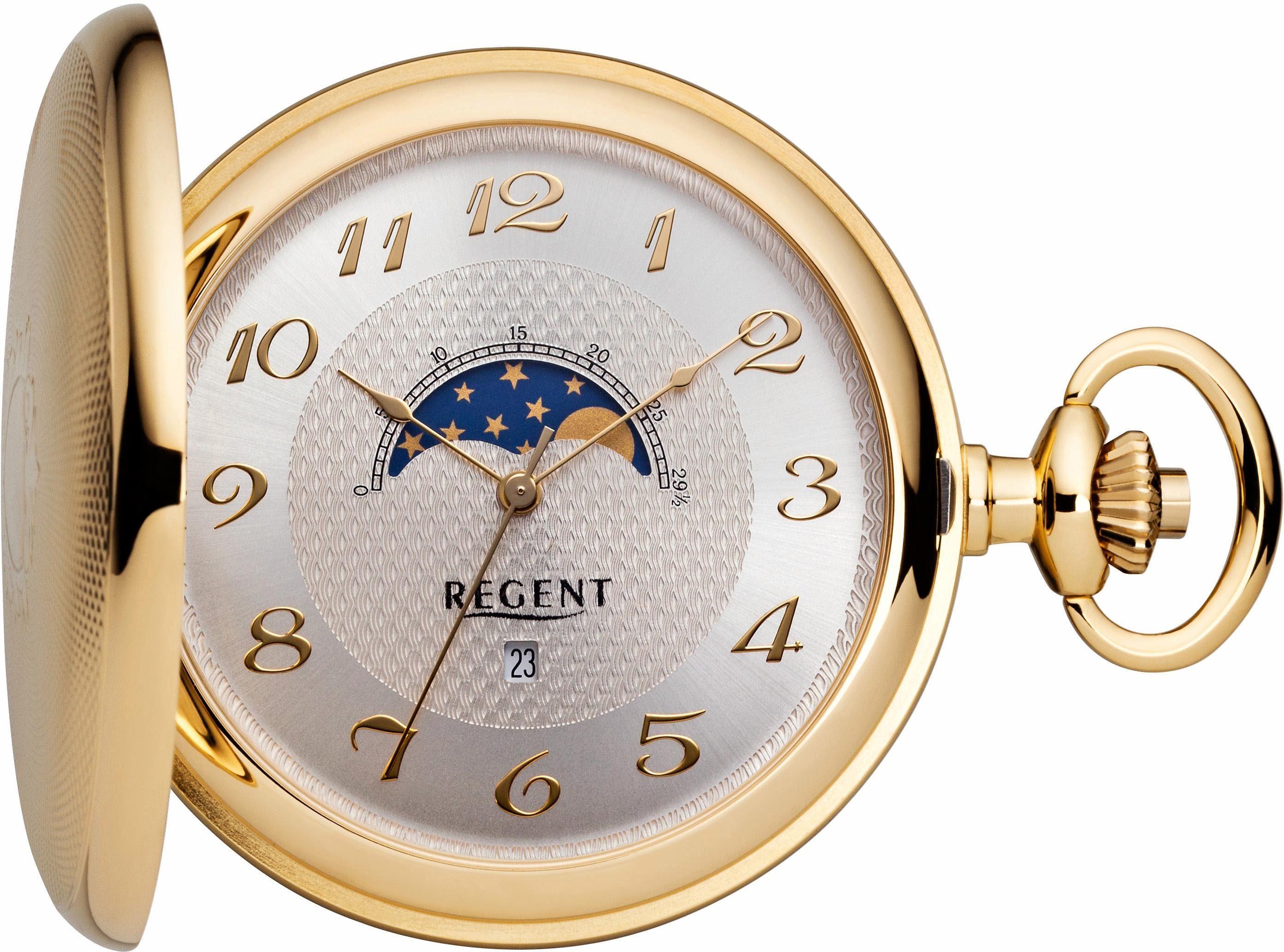 Regent Taschenuhr »11370072« (Set, 2 tlg) inkl. Kette