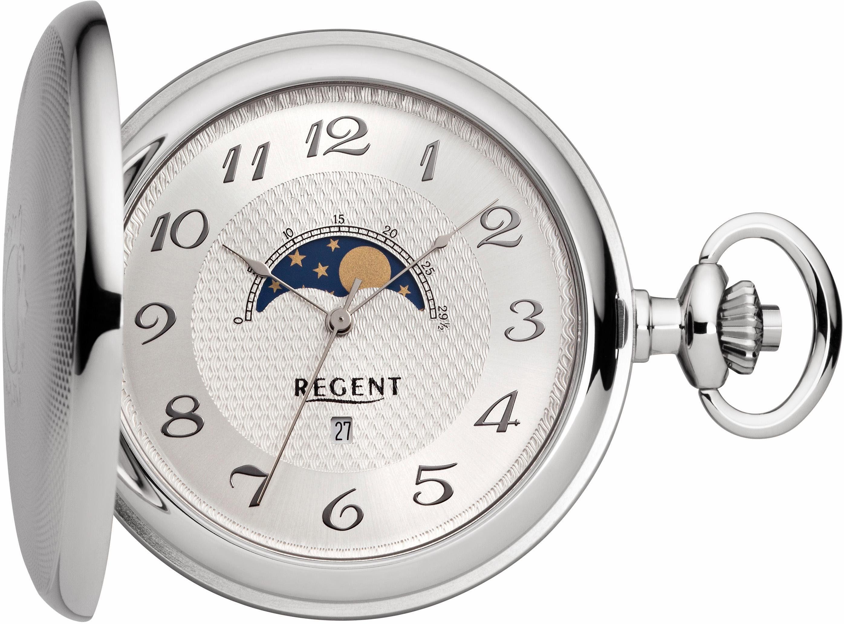 Regent Taschenuhr »11380057« (Set, 2 tlg) inkl. Kette