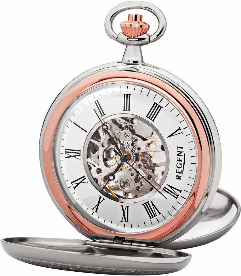 Regent Taschenuhr »11330079« (Set, 2 tlg) inkl. Kette | Uhren > Taschenuhren | Regent
