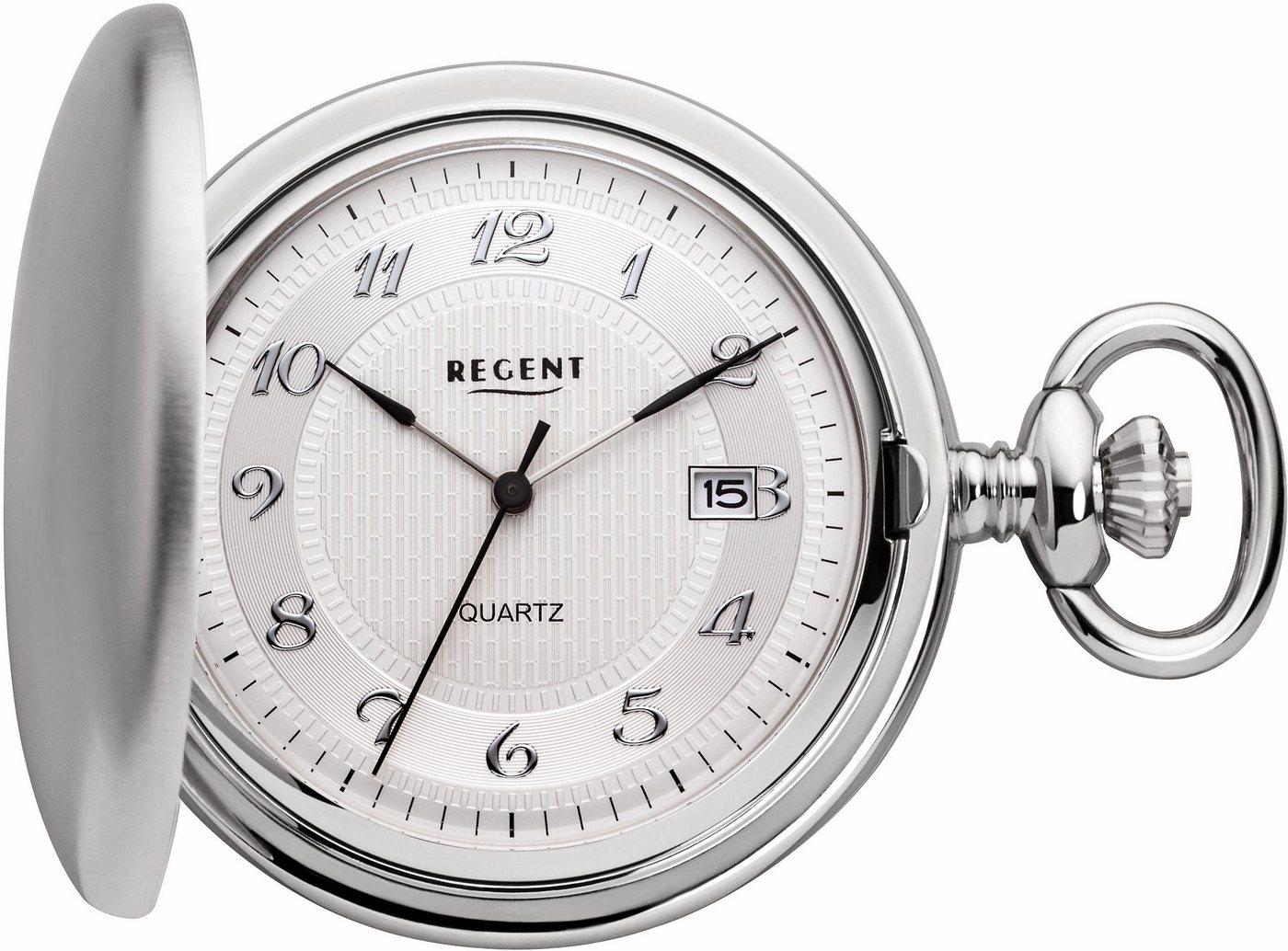 Regent Taschenuhr »11380004« (Set, 2 tlg) inkl. Kette | Uhren > Taschenuhren | Regent