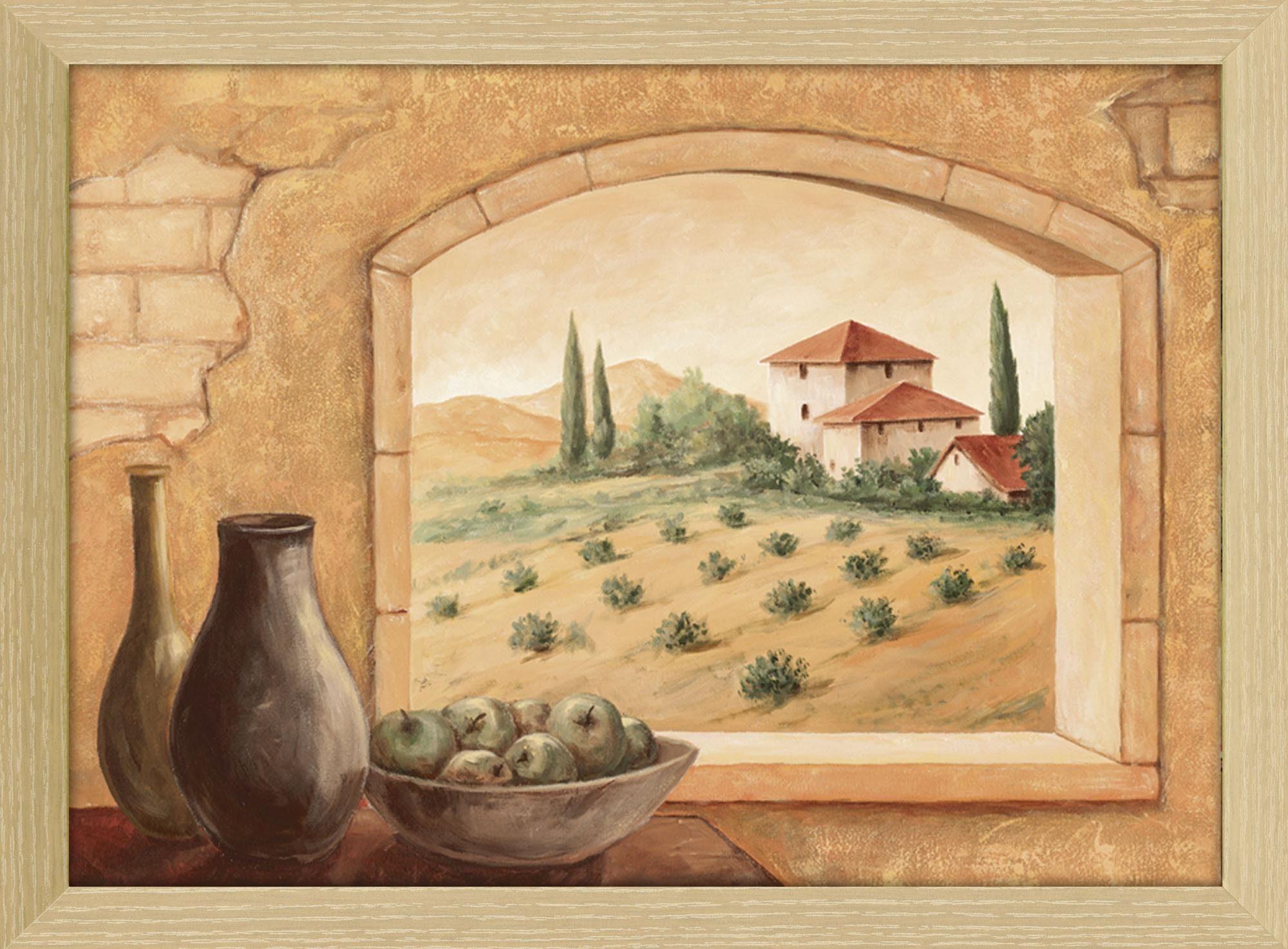Home affaire Kunstdruck »Andres: Toscana«, 75/55 cm