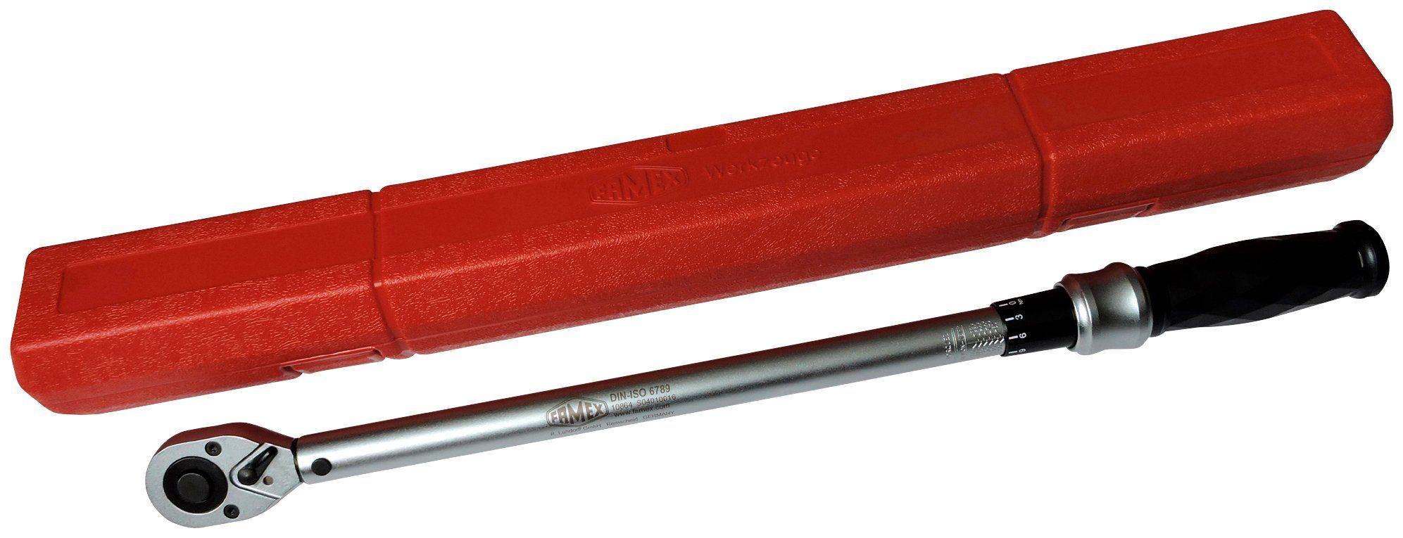 FAMEX Drehmomentschlüssel »Pro R+L«, 50-350 Nm
