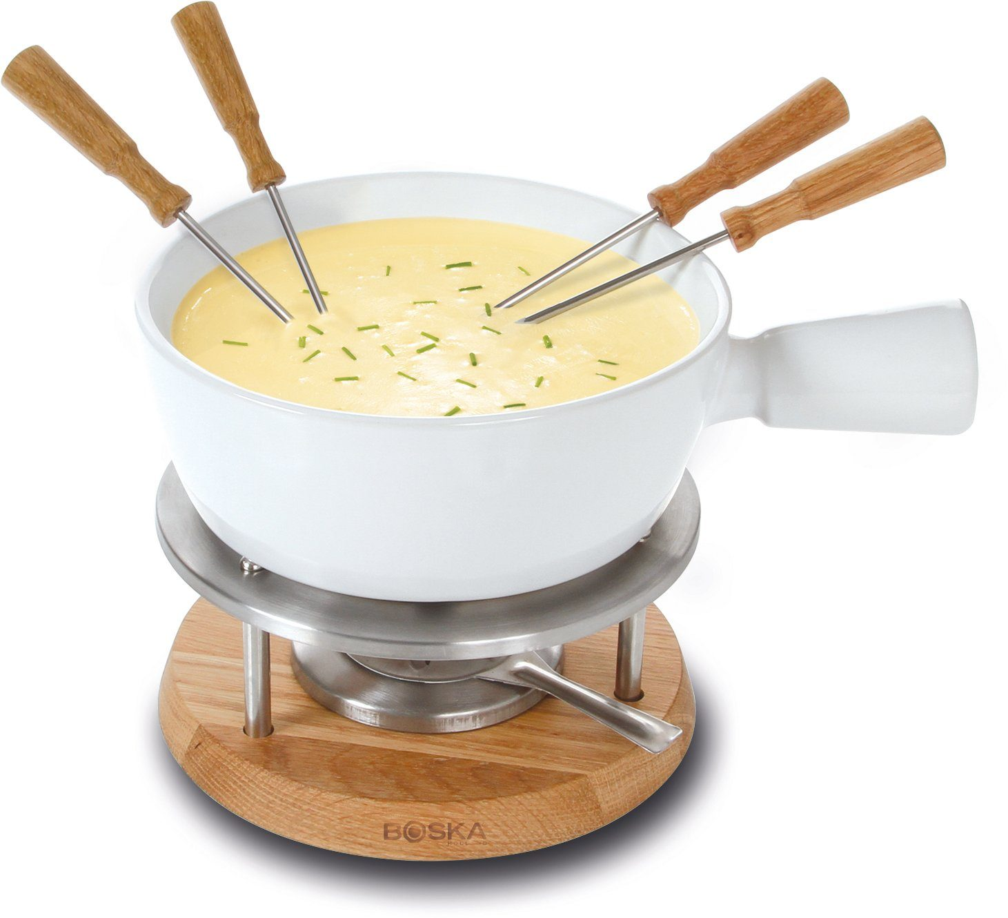 BOSKA Holland Fondue-Set, 1 Liter, »BIANCO«