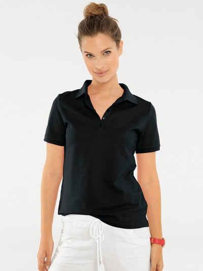 Schwarze Damen Poloshirts online kaufen   OTTO fecab4a84e