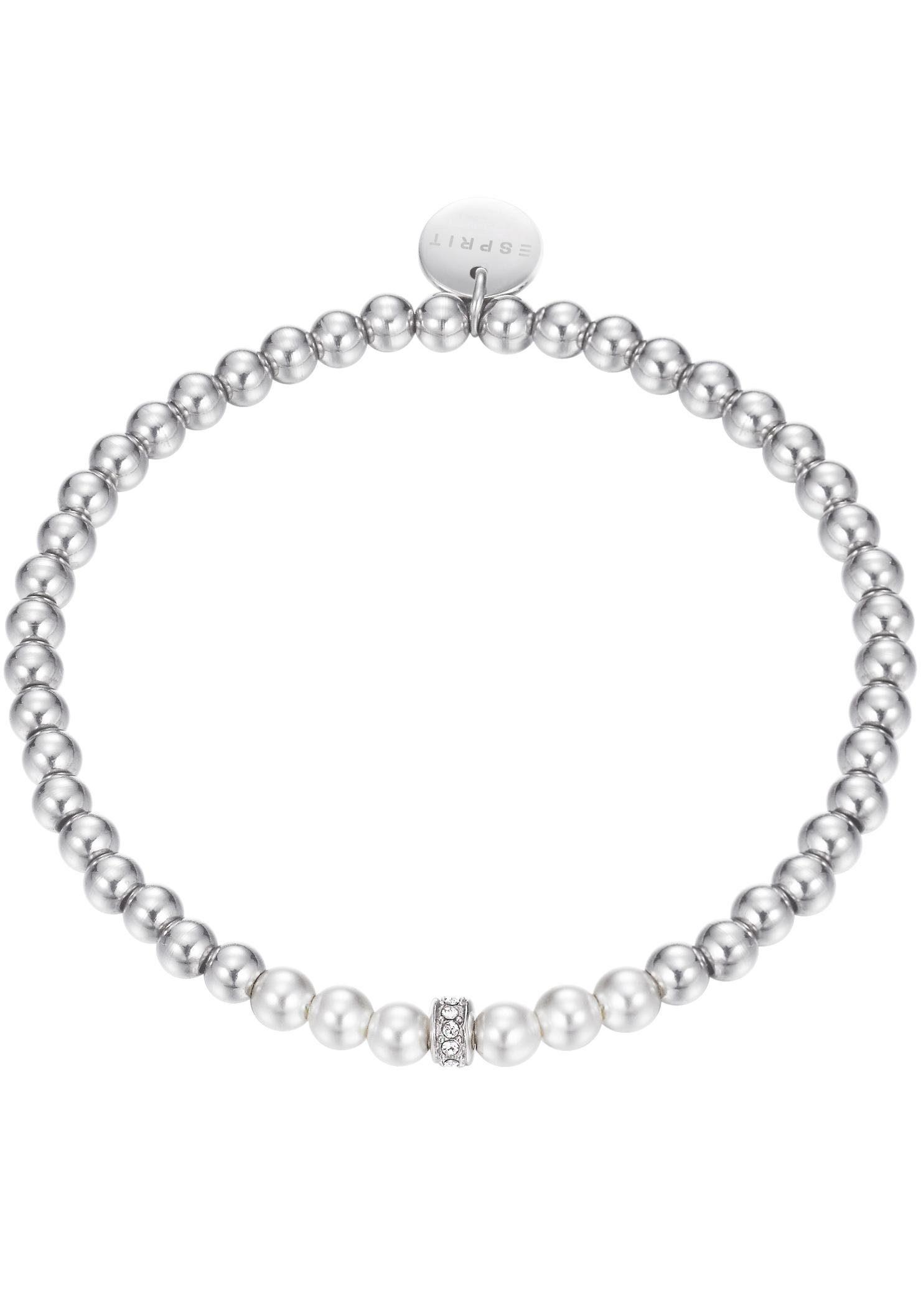 Esprit Armband »ESPRIT-JW52906, ESBR11914A165«, mit Glasperlen, Glas- und Strasssteinen