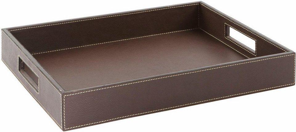 fink tablett maretti aus leder online kaufen otto. Black Bedroom Furniture Sets. Home Design Ideas