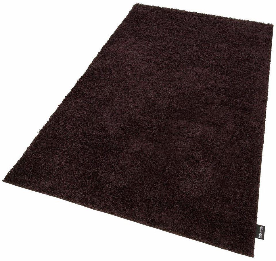 hochflor teppich shaggy soft bruno banani rechteckig h he 30 mm gewebt online kaufen otto. Black Bedroom Furniture Sets. Home Design Ideas