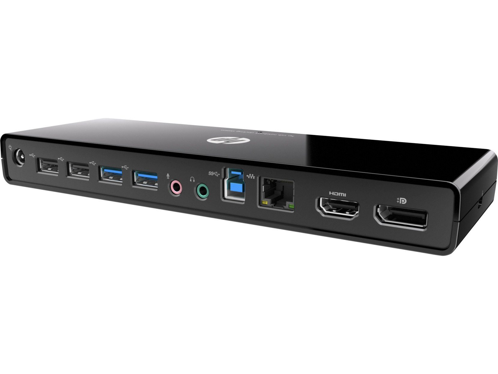 HP Port Replikator & Docking Stations »3005PR USB 3.0 PORT REPLICATOR«
