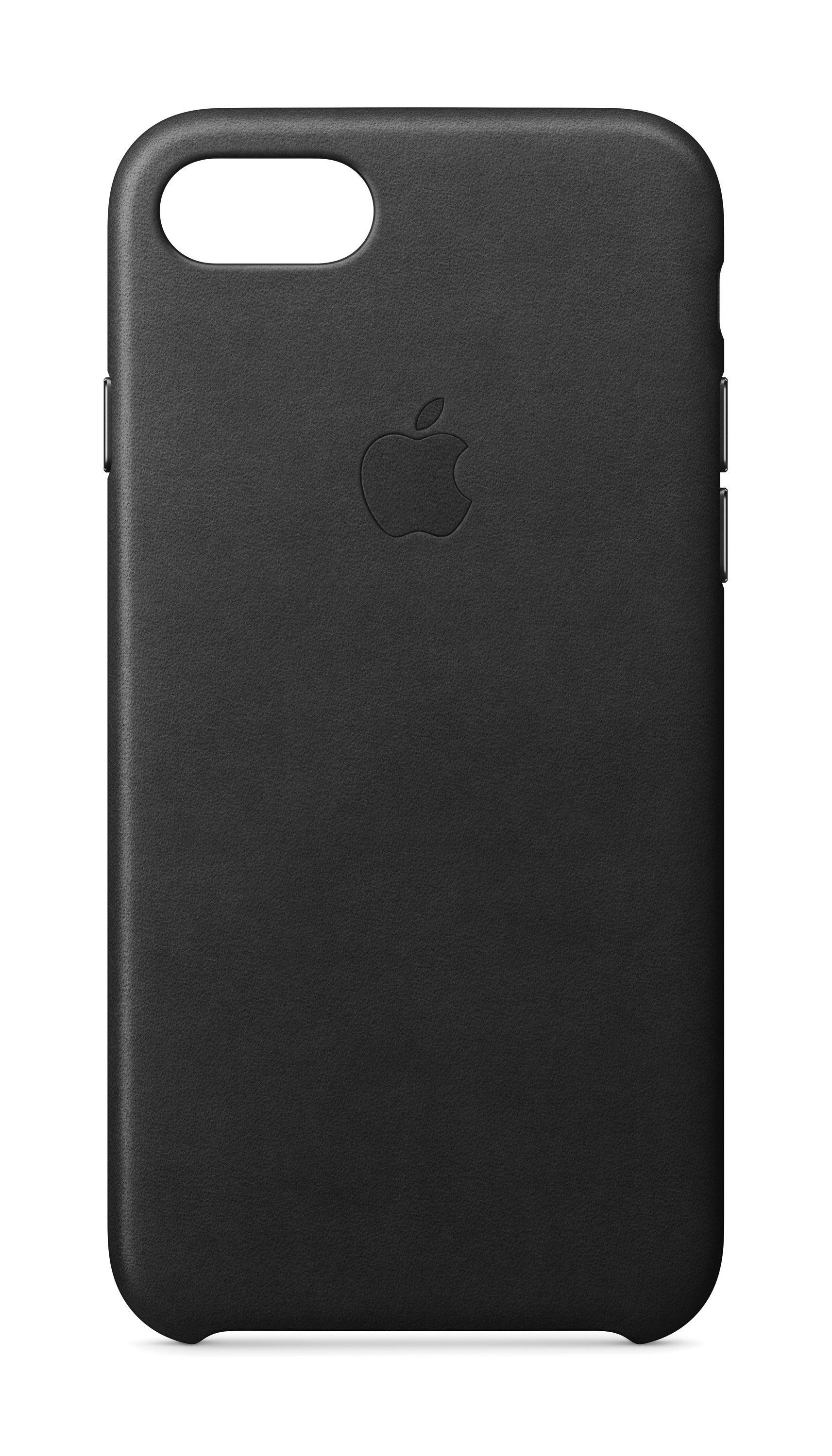 Apple Case »IPHONE 7 LEATHER CASE Schwarz«