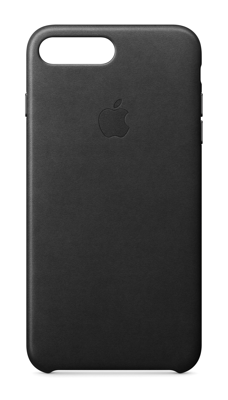 Apple Case »iPhone 7 Plus Leder Case Schwarz«