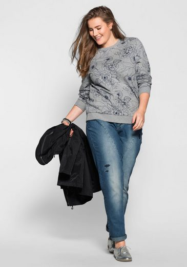 Sweat-shirt Occasionnel Sheego