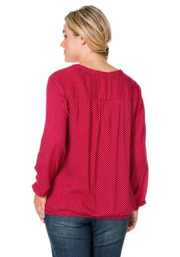 Sheego Casual Tunics, Welt And Arms With Elastic Band
