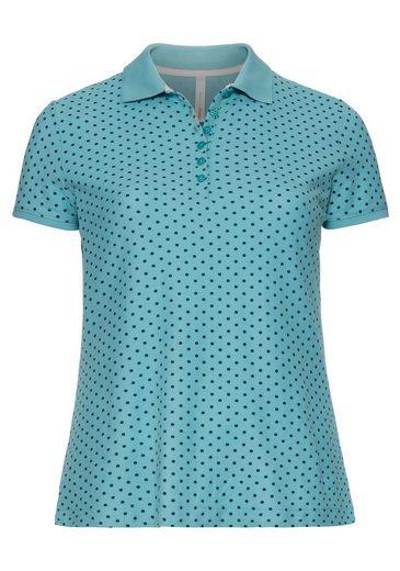 Sheego T-shirt Décontracté, Avec Impression À Pois