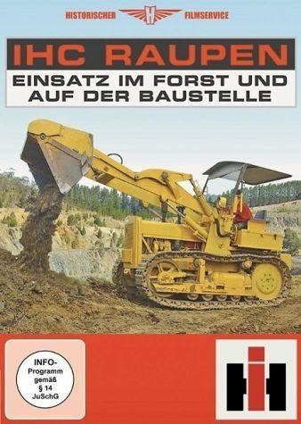 DVD »IHC Raupen - Einsatz im Forst und auf der...«