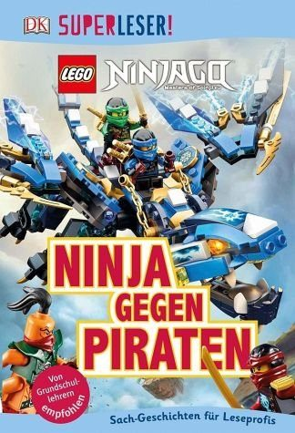 Gebundenes Buch »SUPERLESER! LEGO® NINJAGO®. Ninja gegen Piraten«