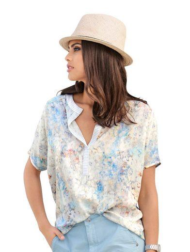 Alba Moda Blusenshirt in Patchdessin
