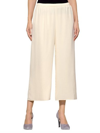 Alba Moda Silk-culotte In Fashionable Cut Guidance