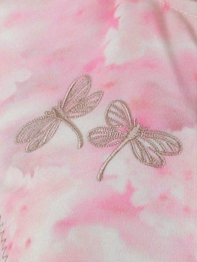 Mona Shirtjacke mit Blütendruck