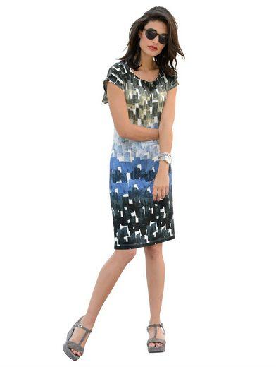Alba Moda Jerseykleid mit attraktivem Druck