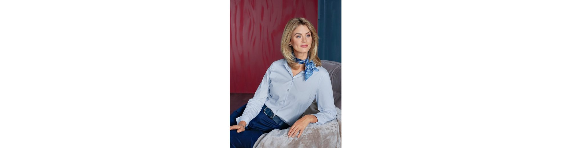 Neuesten Kollektionen Günstig Online Rabatt-Websites Mona Bluse mit Baumwolle Billig Verkauf Angebote Verkauf Erschwinglich oWsqbzji