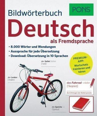 Broschiertes Buch »PONS Bildwörterbuch Deutsch als Fremdsprache«