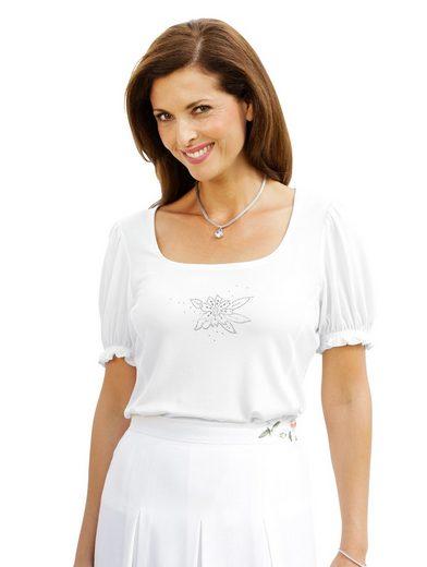 Mona Shirt mit funkelnden Zierplättchen