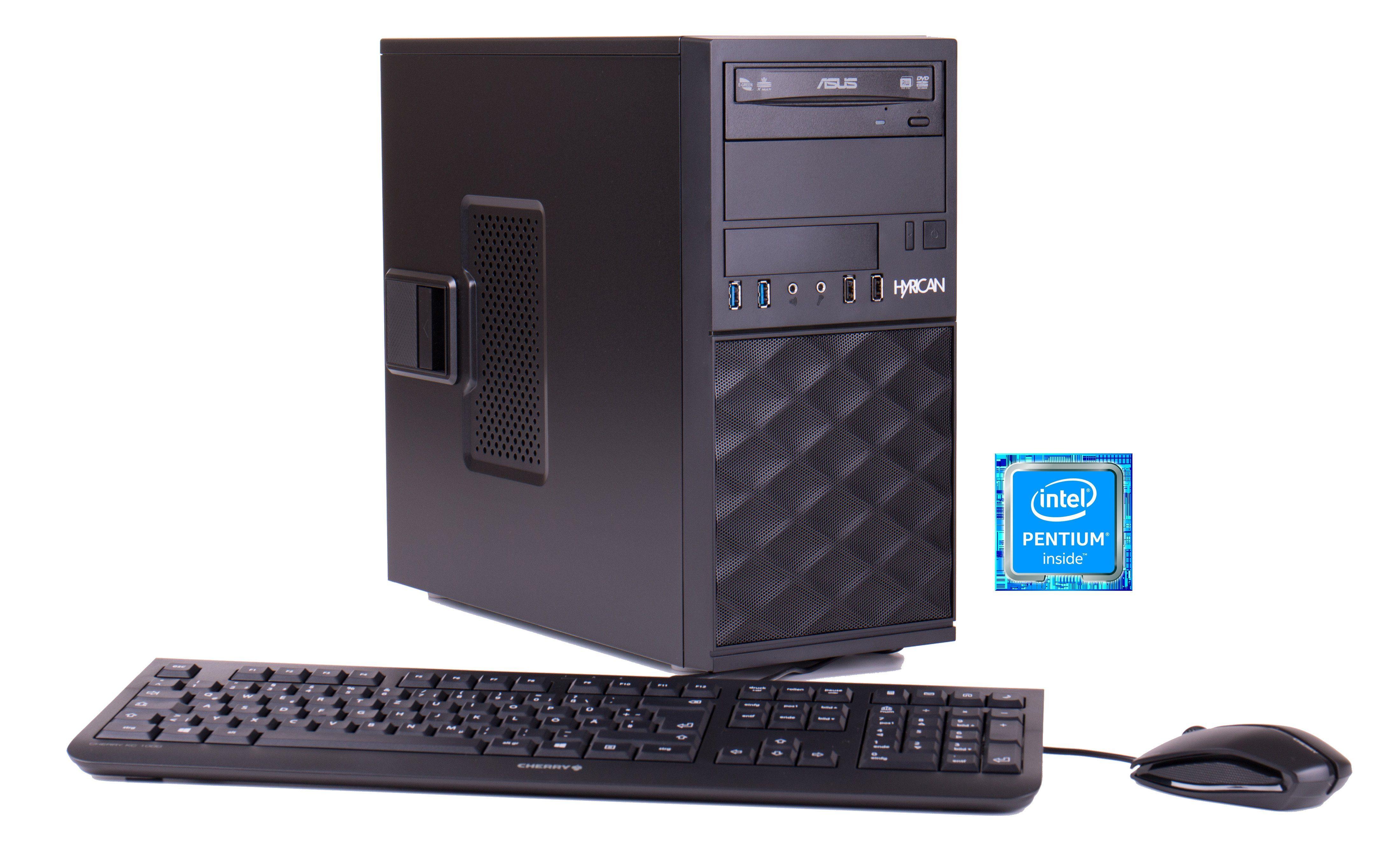 Hyrican Business PC Intel® G4600, 4GB, 120GB, Windows 10 Pro Lizenz »Business CTS00391«