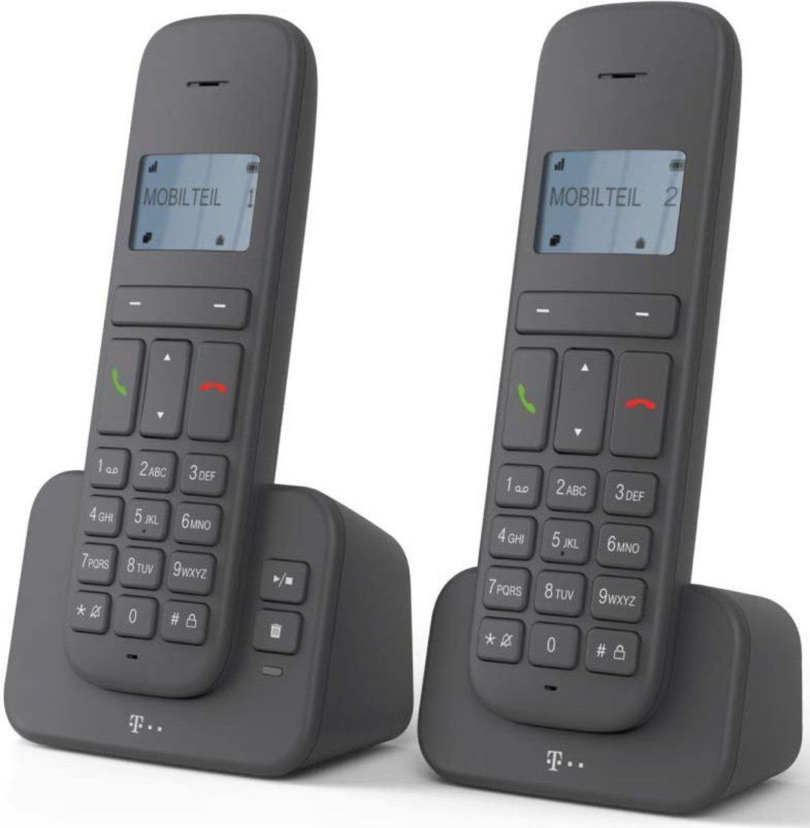 Telekom Telefon analog schnurlos »CA 37 Duo«