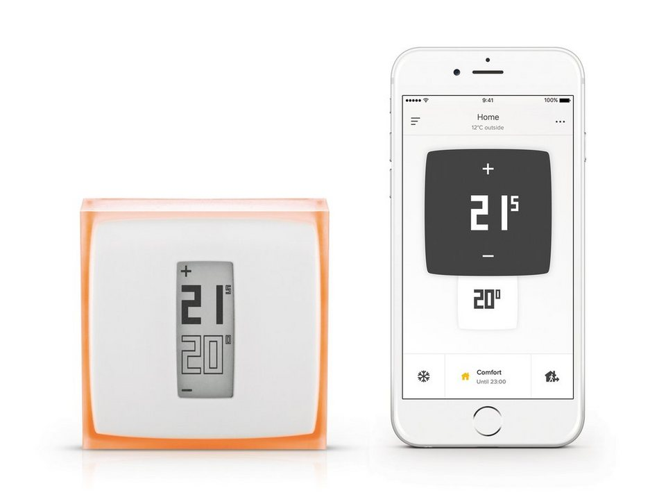 netatmo heizungssteuerung mit app f r iphone smartphone. Black Bedroom Furniture Sets. Home Design Ideas