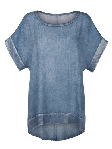 Alba Moda Oversizedshirt mit Paillettendetails