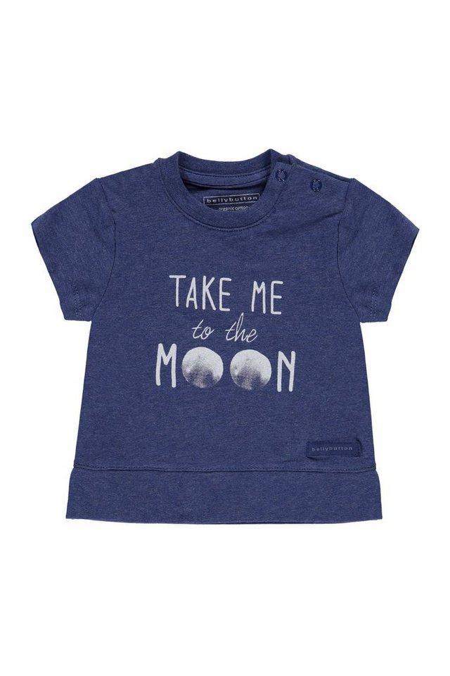 BELLYBUTTON Babyshirt, Motivprint vorn 1 in twighlight blue mela