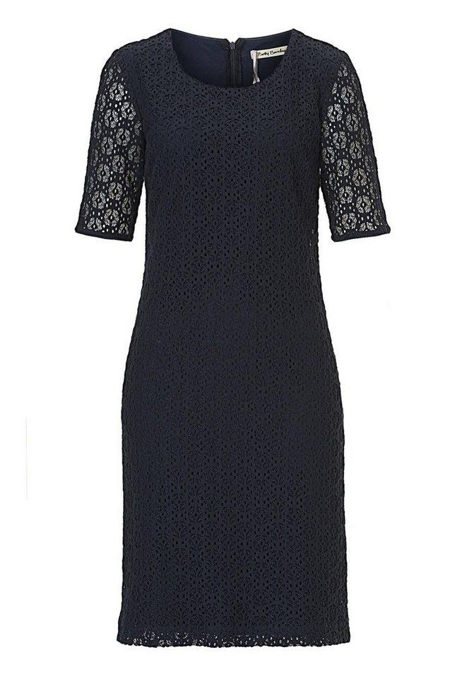 Betty Barclay Kleid mit Spitze in dunkelblau - Blau