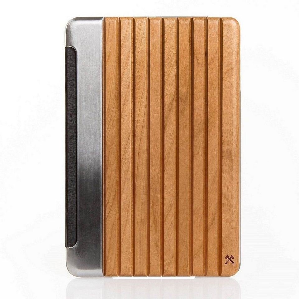 """Woodcessories EcoGuard - Echtholz Case für iPad Pro 9,7"""" - Tackleberry in Silber"""