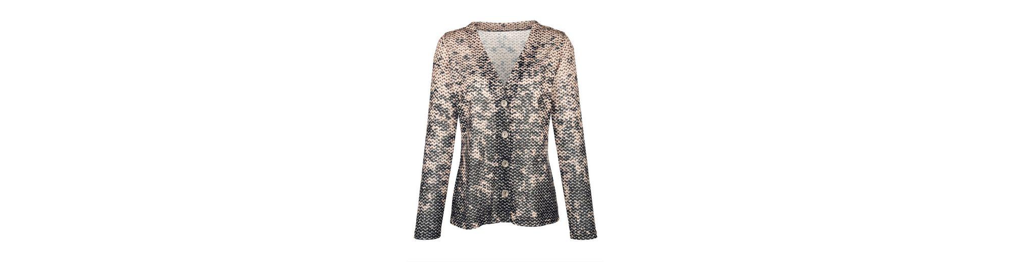 Mona Shirtjacke mit attraktivem Druck Preise Gut Verkaufen Zu Verkaufen VbGp01p