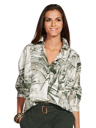 Alba Moda Oversized-Bluse im Kimono-Style