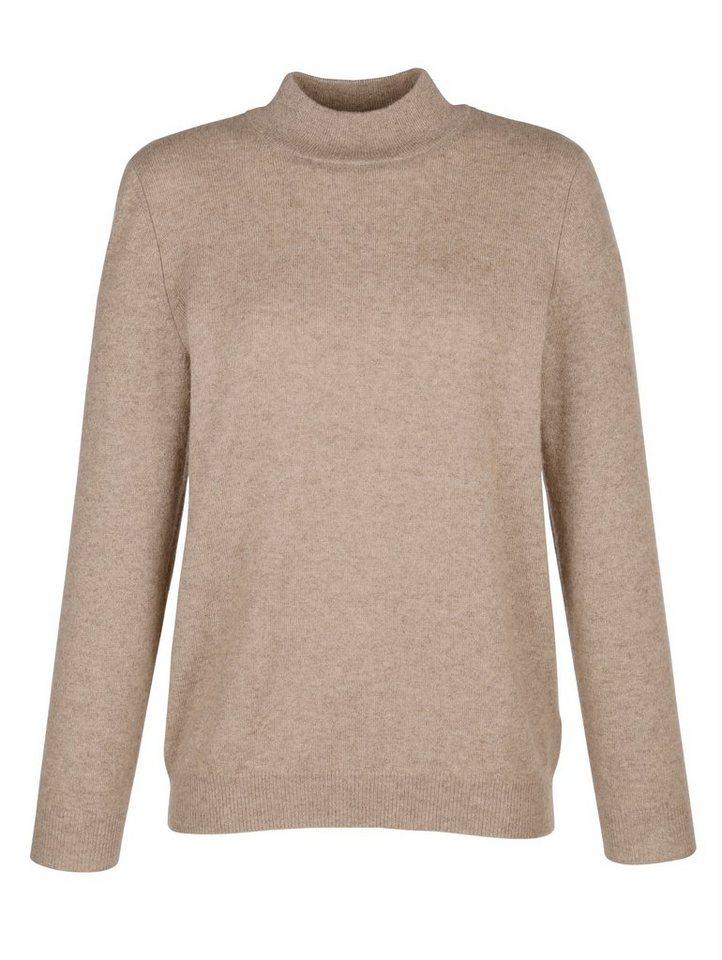 b672e86b0705f8 Mona Kaschmir-Pullover mit Stehkragen kaufen | OTTO