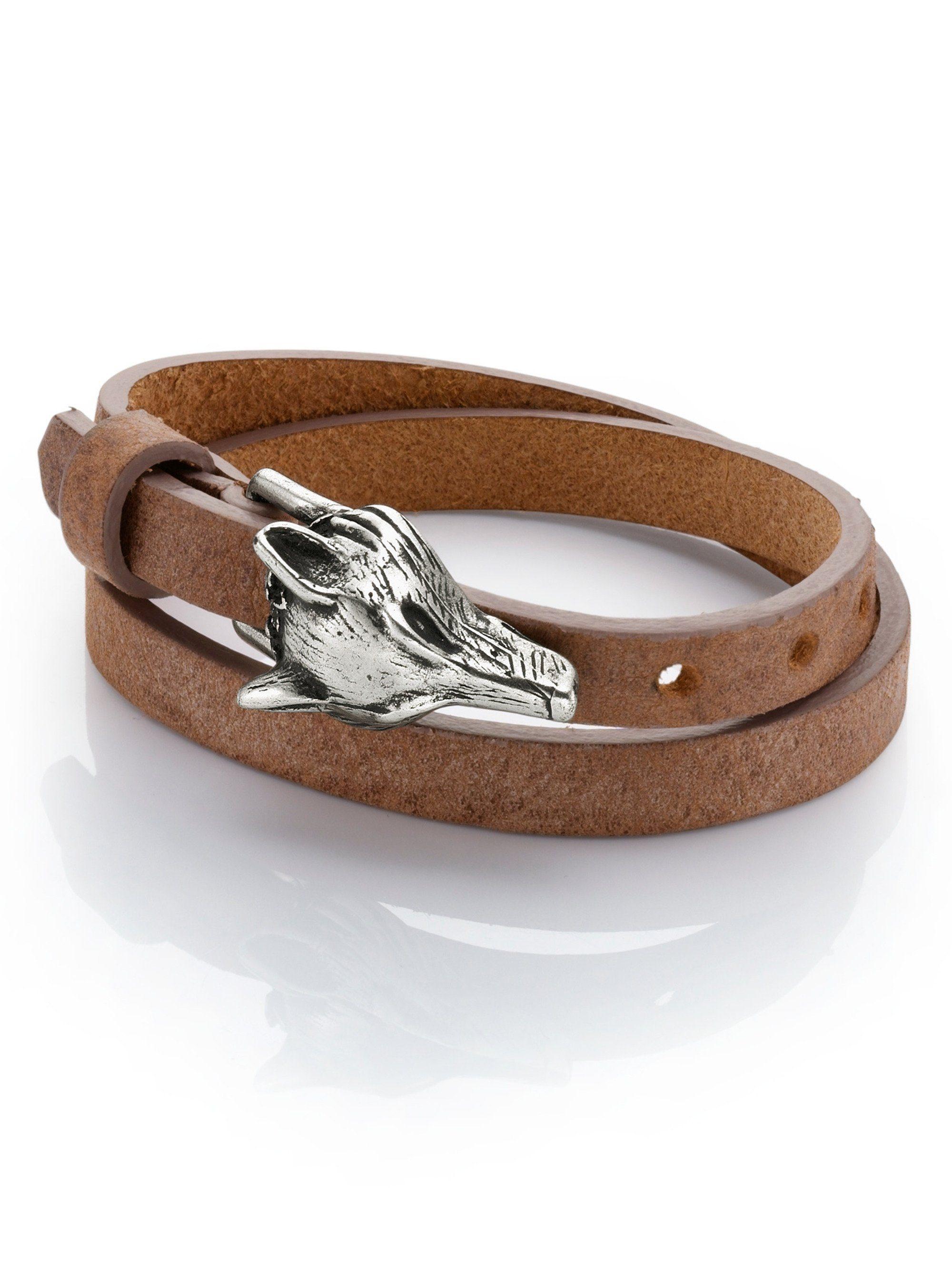 Alba Moda Armband mit Fuchskopf-Verschluss